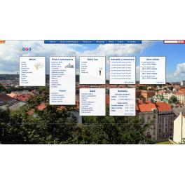 Rozsáhlá webová šablona - Město I