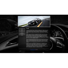 Responzivní webová šablona - Autoklub