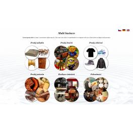 Pokročilá animovaná šablona - Multi business