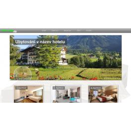 Webová šablona - hotel