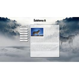 Webová šablona Wordpress - vlk